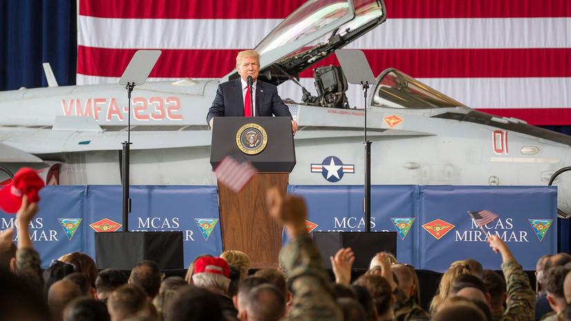 Трамп заявил о намерении США продолжать отправлять солдат в страны Балтии