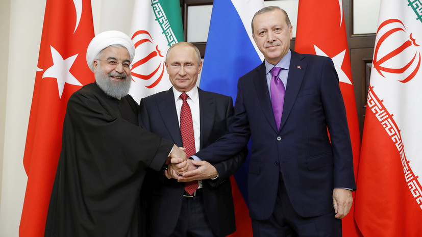 В Анкаре начался саммит лидеров России, Ирана и Турции