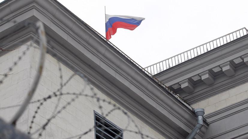 Посольство России требует предоставить доступ к экипажу арестованного на Украине судна «Норд»