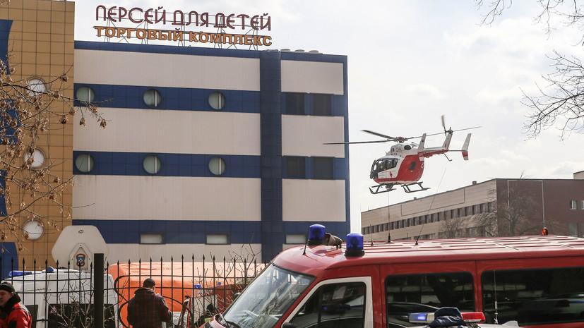 На востоке Москвы восстановлено движение транспорта после пожара в ТЦ