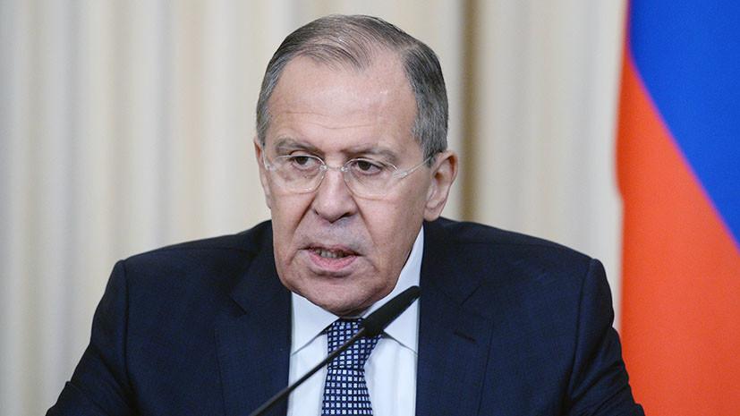 Лавров проведёт встречу с высланными российскими дипломатами