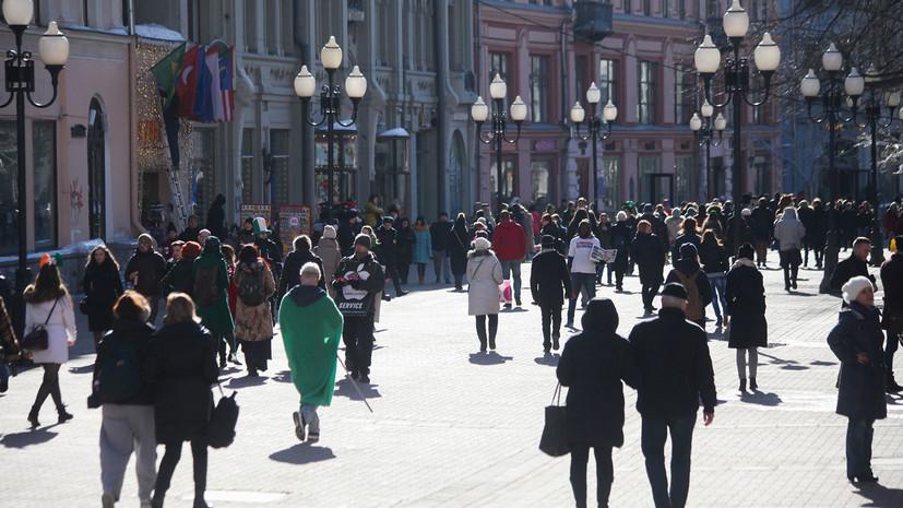 В Москве 5 апреля ожидается до +12 °С