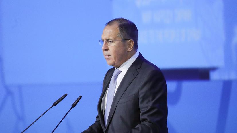 Лавров: США намерены сохранять управляемый хаос для оправдания присутствия на Ближнем Востоке