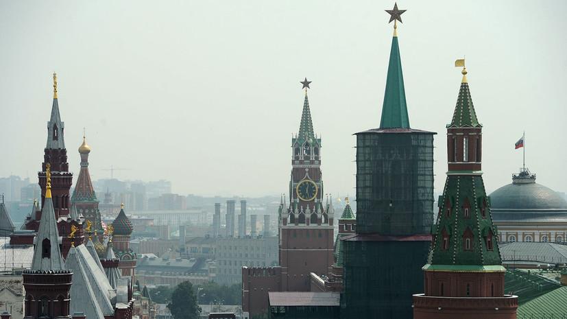 В Кремле прокомментировали ситуацию с задержанием российского судна «Норд»