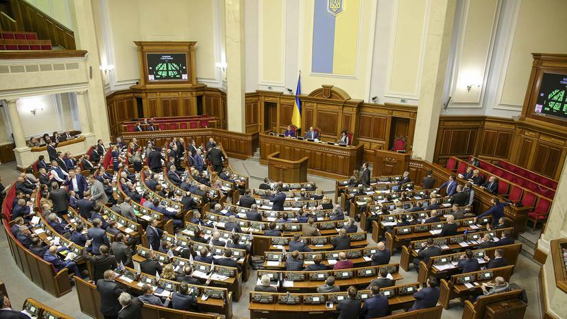 Рада приняла в первом чтении закрепляющий стремление в НАТО президентский законопроект