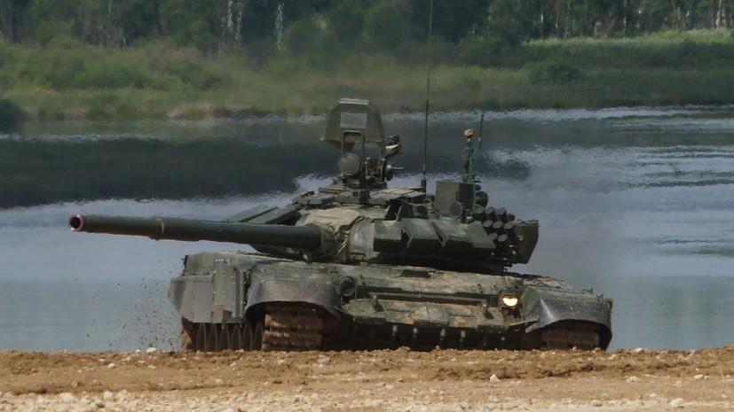 В российских танках установят кондиционеры