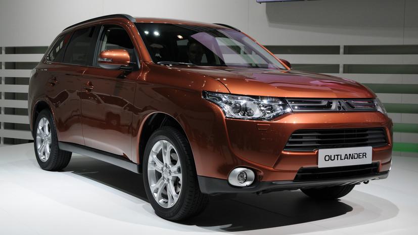 Mitsubishi отзывает в России почти 87 тысяч Outlander
