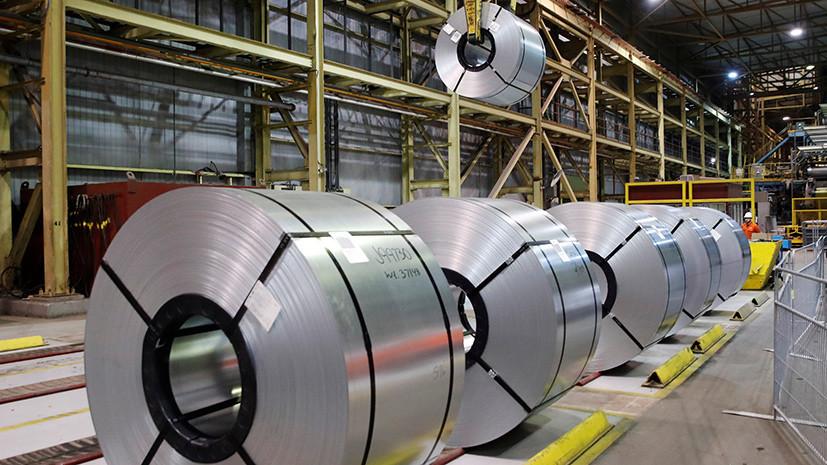 СМИ сообщили о падении объёмов производства стали на Украине
