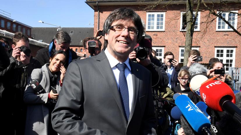 Испанское правительство уважает решение немецкого суда освободить Пучдемона