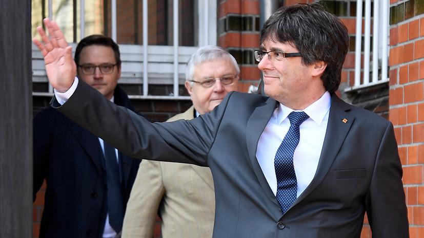 Пучдемон призвал власти Испании «начать политический диалог» с Каталонией