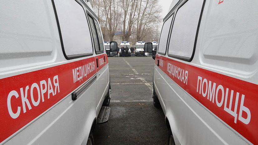 Автобус столкнулся с грузовиком на северо-востоке Москвы