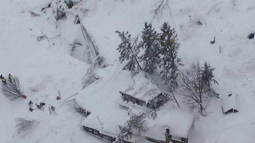 Ростуризм предупредил о возможности схода лавин в Норвегии
