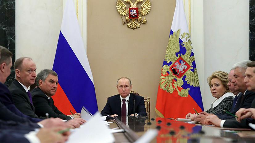 Путин заявил о наращивании НАТО военного потенциала вблизи границ России