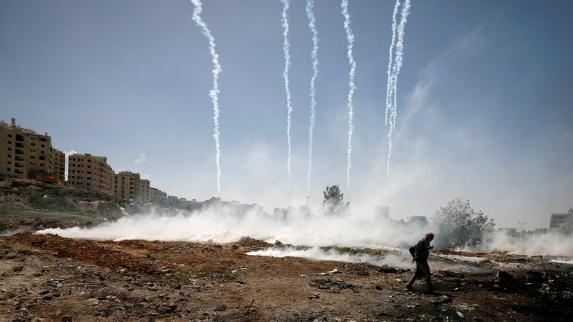 СМИ: Жертвами столкновений с израильскими военными стали два жителя сектора Газа