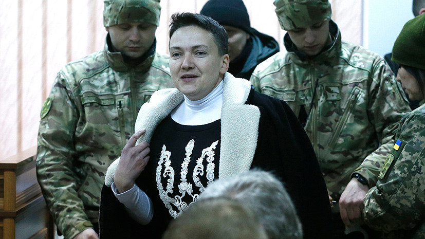 Объявившей голодовку Савченко вызвали скорую помощь