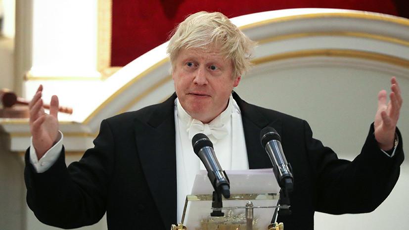 Виновата Россия, но это не точно: как Борис Джонсон и британские СМИ подставили Лондон под удар