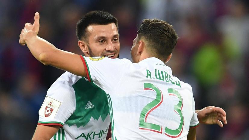Футболист «Ахмата» забил самый быстрый гол в нынешнем сезоне РФПЛ