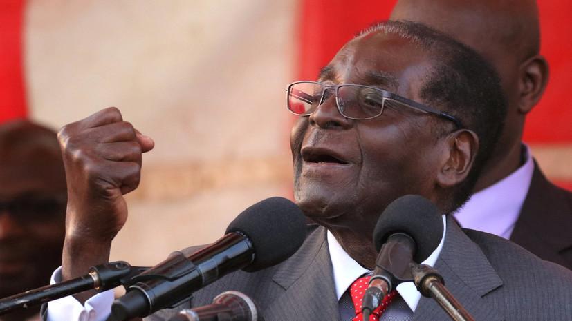У Мугабе украли более 120 компьютеров