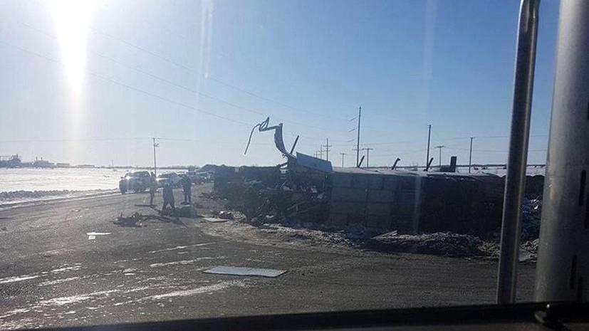 «Мы в смятении и шокированы утратой»: 14 человек погибли в ДТП с автобусом молодёжной хоккейной команды в Канаде