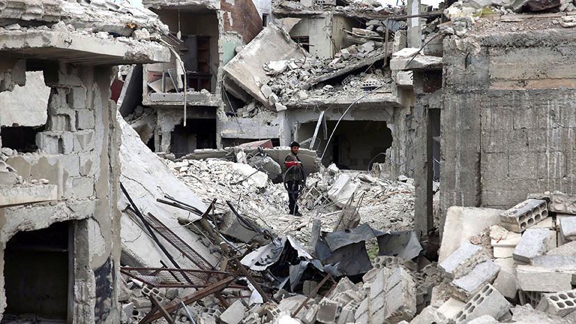 В Минобороны сообщили об ухудшении обстановки в сирийском городе Дума