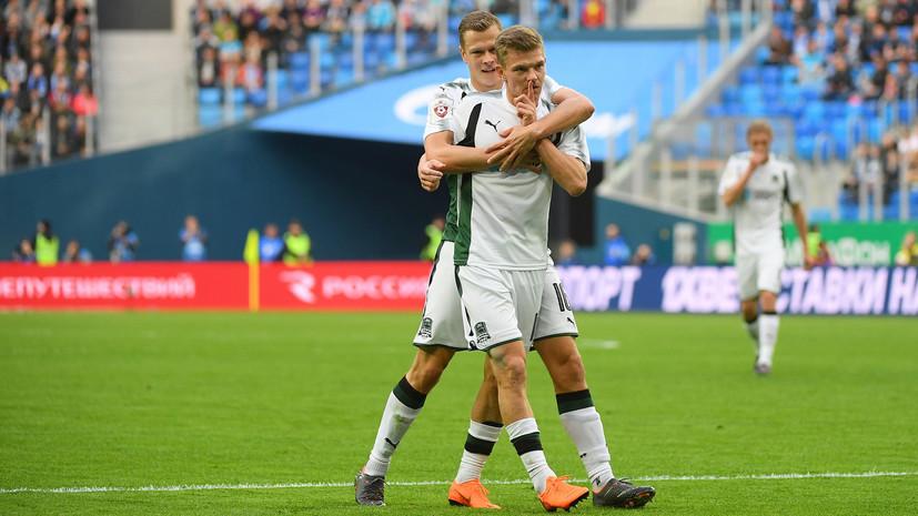 Гол на 88-й минуте, слёзы Шатова и недовольство фанатов: как «Краснодар» на выезде вырвал победу у «Зенита» в матче РФПЛ