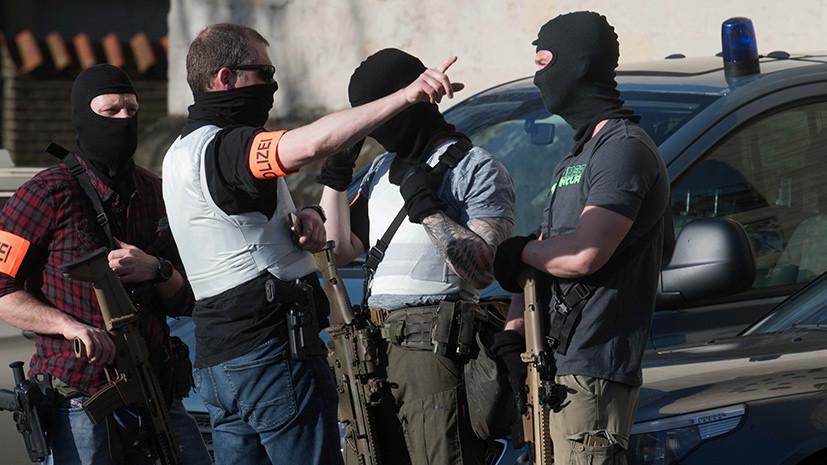 СМИ: Водителем автомобиля в Мюнстере был немец с психическими отклонениями