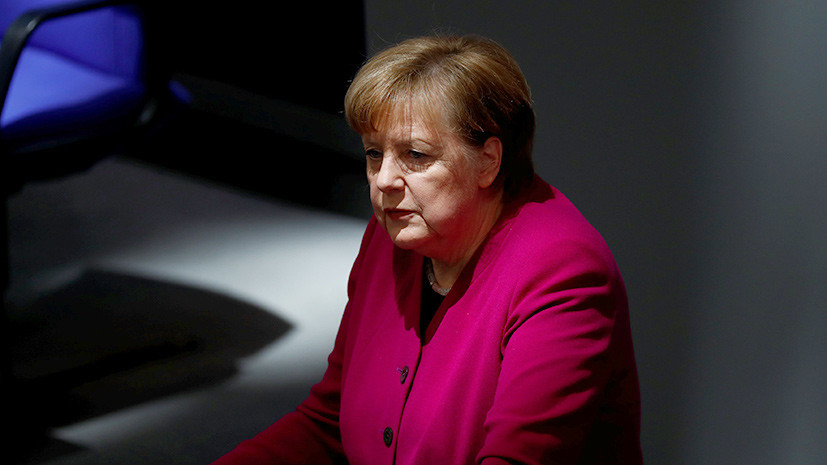 Меркель назвала ужасным событием наезд автомобиля на толпу в Мюнстере