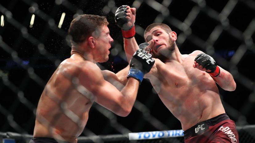 Отец Нурмагомедова прокомментировал завоевание сыном чемпионского пояса UFC