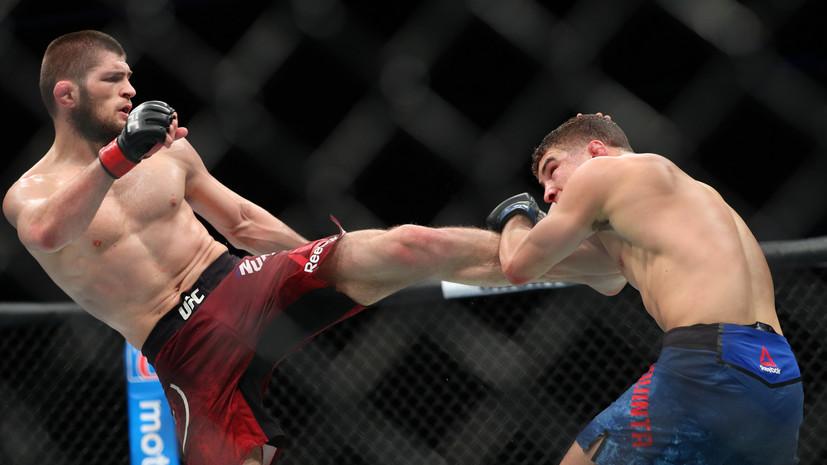 Золотой Орёл: как Нурмагомедов вписал своё имя в историю UFC