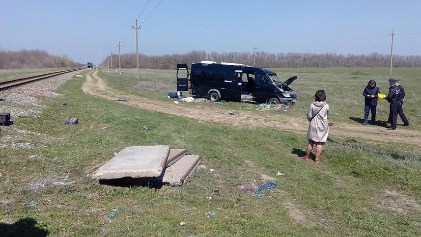 В Крыму сообщили об увеличении числа пострадавших в аварии на железнодорожном переезде