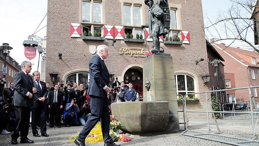 МВД Германии: инцидент с наездом на людей в Мюнстере не связан с терроризмом