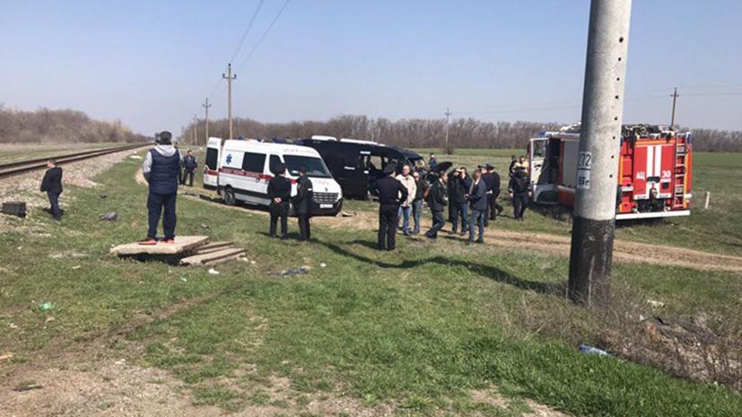 СК начал проверку по факту ДТП на железнодорожном переезде в Крыму