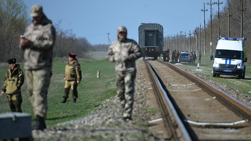 СК возбудил уголовное дело по факту ДТП с электричкой и микроавтобусом в Крыму