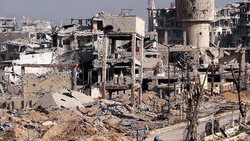 МИД Сирии отреагировал на обвинения в адрес Дамаска о применении химоружия