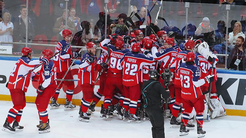 ЦСКА одержал победу в финале Западной конференции КХЛ