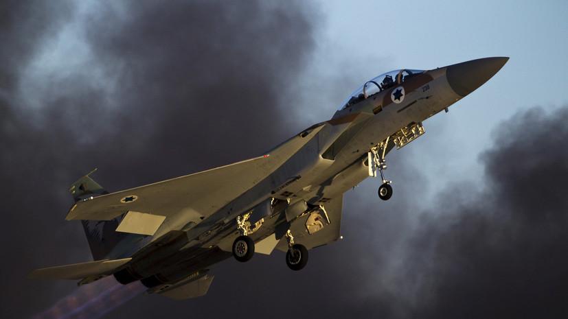 Минобороны России: удары по аэродрому в Сирии нанесли самолёты ВВС Израиля