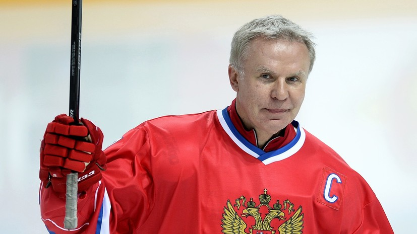 Путин наградил Фетисова орденом «За заслуги перед Отечеством» II степени