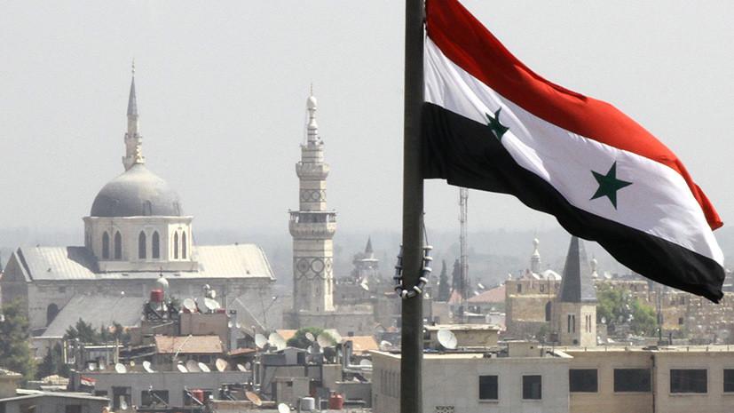 «Попытка помешать успеху армии»: в Сирии ответили на ракетный удар по своей авиабазе