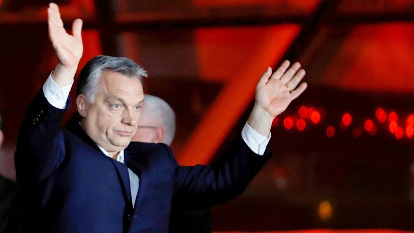 Пушков прокомментировал реакцию европейских организаций на победу партии Орбана в Венгрии