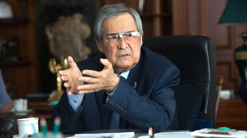 Тулеев избран спикером парламента Кемеровской области