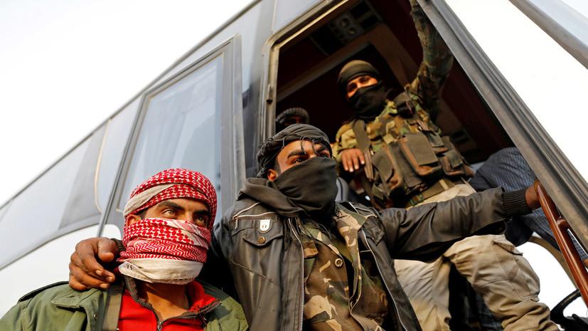 Минобороны: из сирийского города Дума за сутки вышли более 3,6 тысячи боевиков