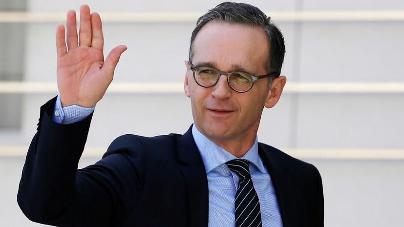 Глава МИД Германии намерен в ближайшее время посетить Украину
