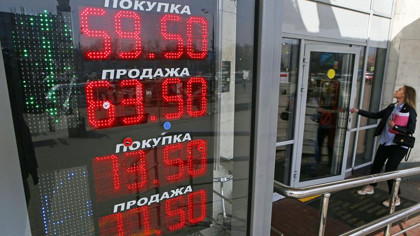 Рекорд за последние два года: рубль второй день подряд демонстрирует ослабление к доллару и евро