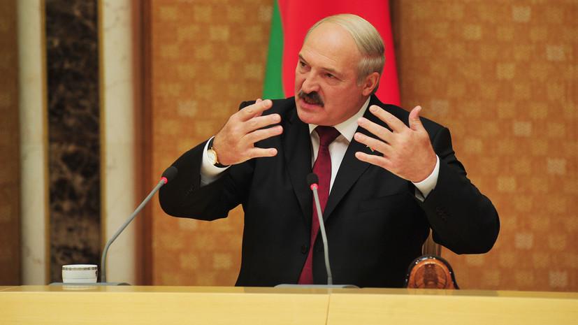 Лукашенко рассказал о своей «жёсткой белковой диете»