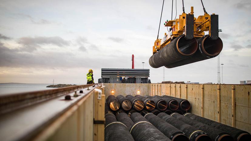 Меркель призвала учитывать интересы Украины при строительстве «Северного потока —