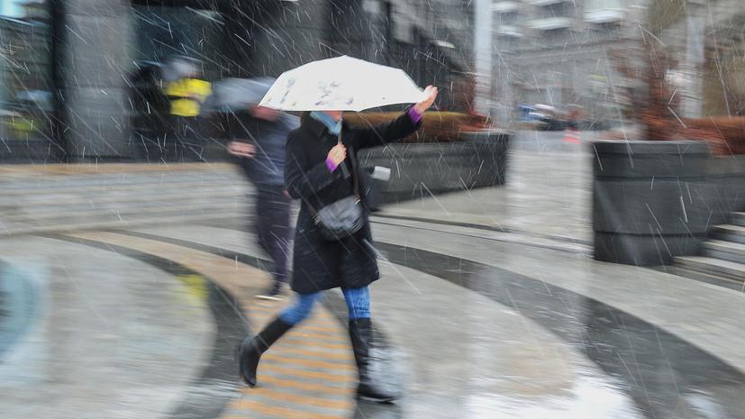 МЧС предупредило о резком похолодании и мокром снеге в Москве
