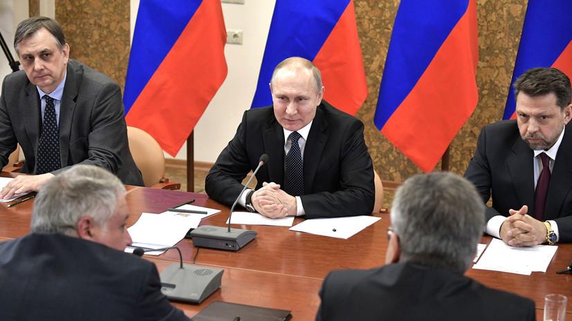 Путин рассказал, кто разрабатывал новейшее российское оружие