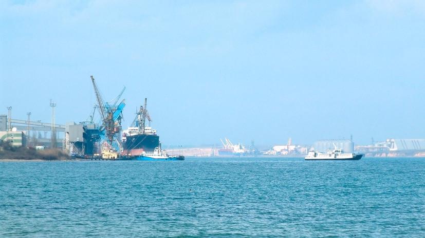 «Настоящее пиратство»: Украина арестовала очередное российское судно за «незаконную добычу песка» в Крыму