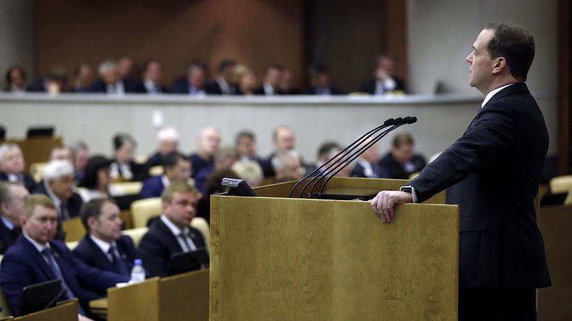 Медведев привёл в пример свою бабушку, говоря о пенсиях для работающих пенсионеров
