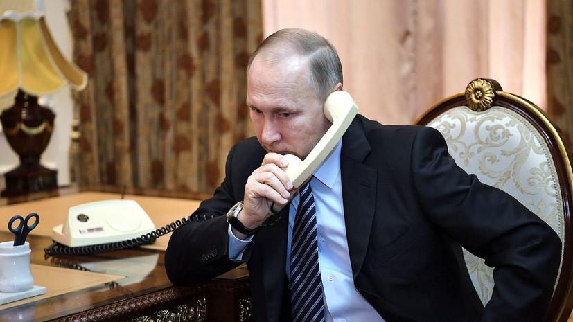 Путин призвал Нетаньяху воздержаться от дестабилизирующих действий в Сирии